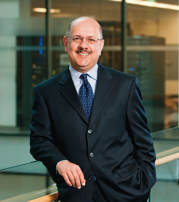 Farnam Jahanian, assistant director for the computer and information science and engineering directorate at the National Science Foundation, will become Carengie Mellon's vice president of research this summer.  (credit: Courtesy of Farnam Jahanian)