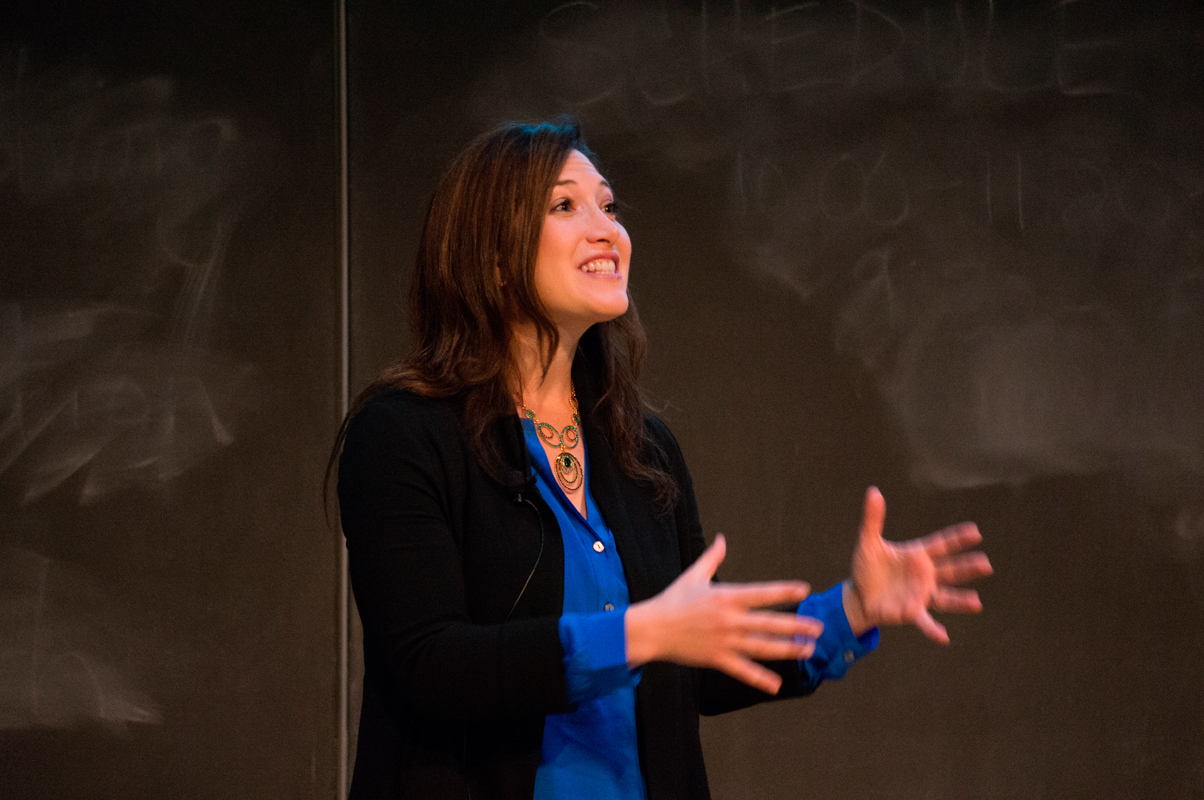 Randi Zuckerberg left her marketing position at Facebook to start her own company, Zuckerberg Media, which consults with other comapnies on the use of social media and technology. The company also develops its own publications, such as Dot Complicated, of which Zuckerberg is editor-in-chief. (credit: Abhinav Gautam/)
