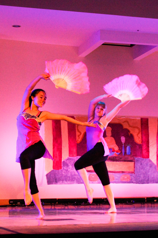 Dancing was just one of many Chinese traditions showcased at One Night In Beijing (credit: Maryyann Landlord/Comics Editor)