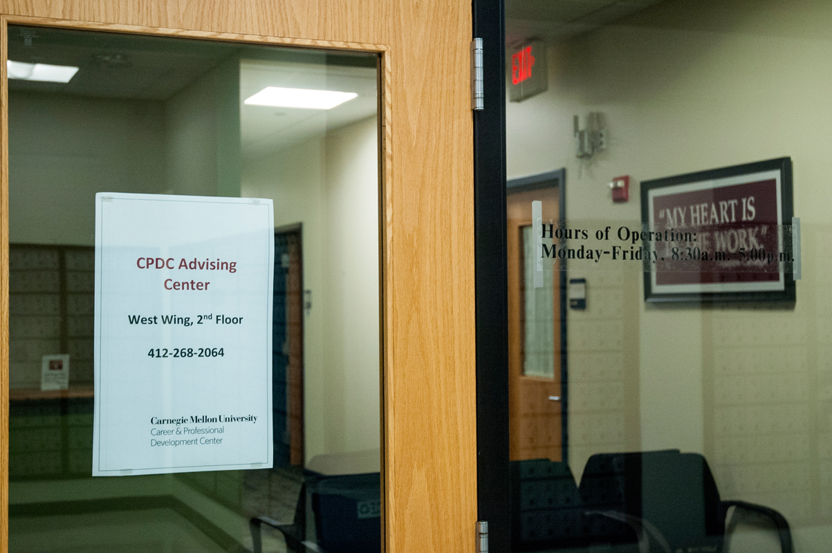 The Career and Professional Development Center, although it moved its advising center to the second floor of West Wing, has group study and interview rooms in the basement of the CUC. (credit: Braden Kelner/Editor-in-Chief)