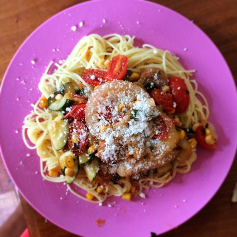 Save the Summer Splunk over freshly cooked fettuccine. Top it with some cheese, and it'll look fresh out of a five-star kitchen. (credit: Laura Scherb/Operations Manager)