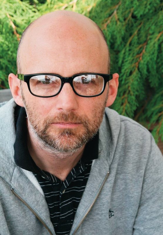 Singer-songwriter Moby spoke at Kresge Theatre last weekend on how music can be used as therapy. (credit: Wikimedia Commons)