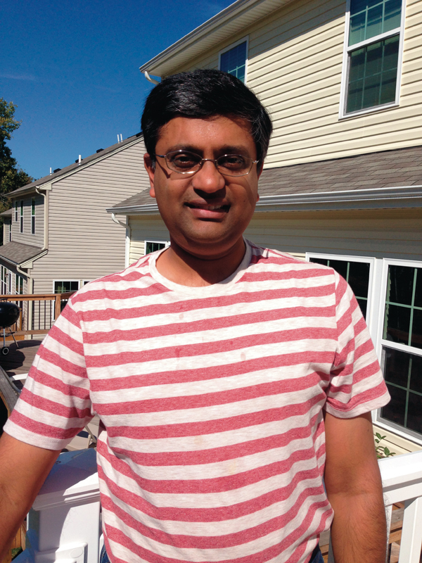 Srinivasa Narasimhan is an associate professor of robotics. (credit: Srinivasa Narasimhan)