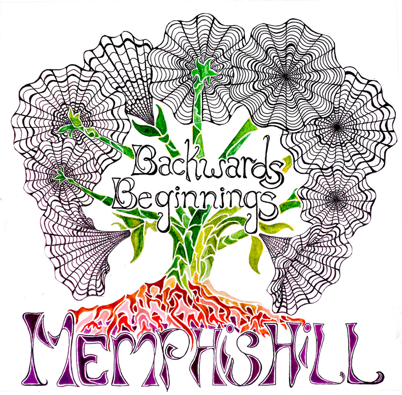 Cover art for Memphis Hill's debut album, *Backwards Beginnings*. (credit: Courtesy of Memphis Hill)