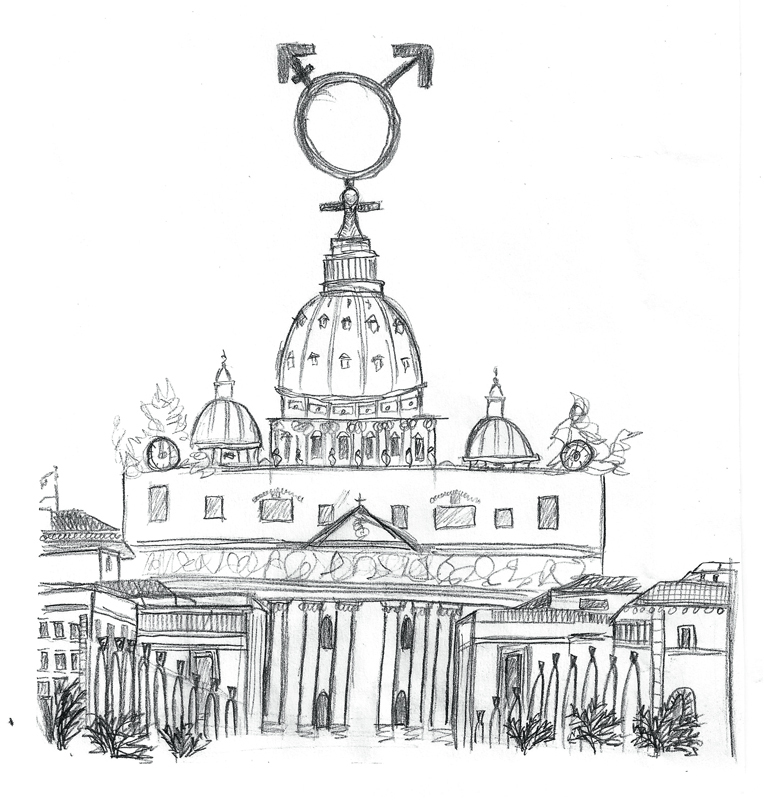 Vatican must adopt changed LGBT stance (credit: Maegha Singh/)