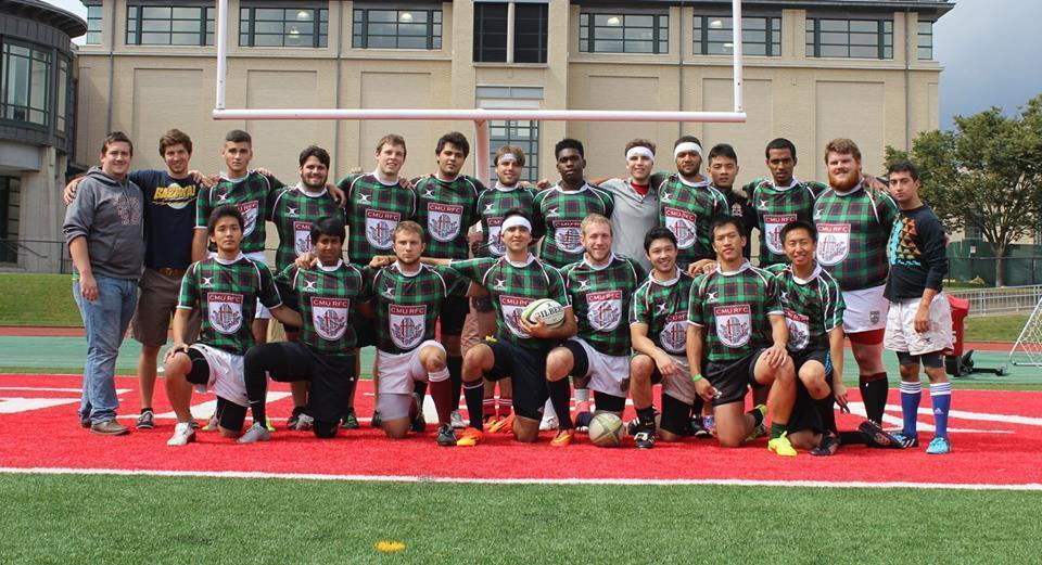 The Fall 2014 Carnegie Mellon University Rugby Football Club team has a promising future (credit: Photo by Danae Paparis courtesy of Justin Lee)