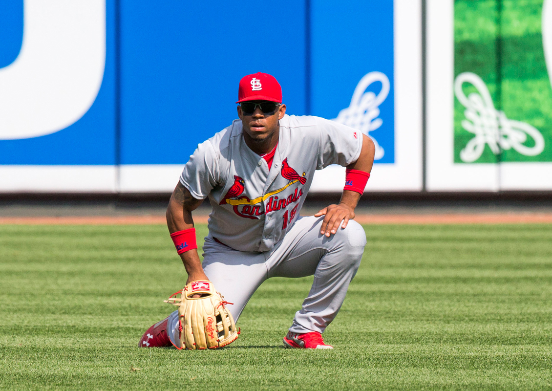 Oscar Taveras was killed in a car crash last Sunday in the Dominican Republic. He was 22. (credit: Courtesy of Keith Allison via Wikimedia Commons)