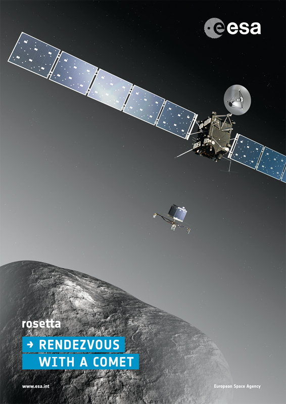 On Nov. 12, the European Space Agency landed the Philae probe on a comet's surface. (credit: ESA–C. Carreau via Flickr)