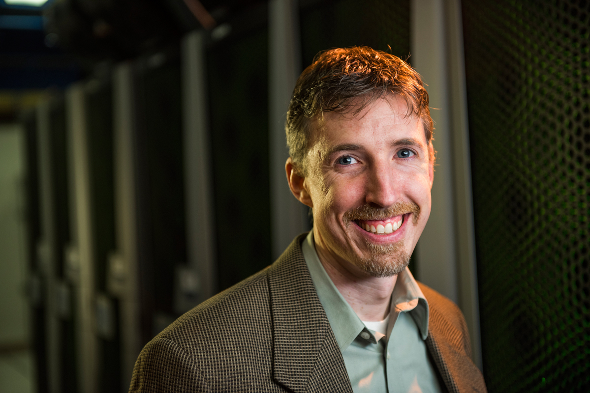Michael Bowling, a Carnegie Mellon University School of Computer Science alumnus, helped develop a computer program to solve a version of poker. (credit: Michael Bowling)