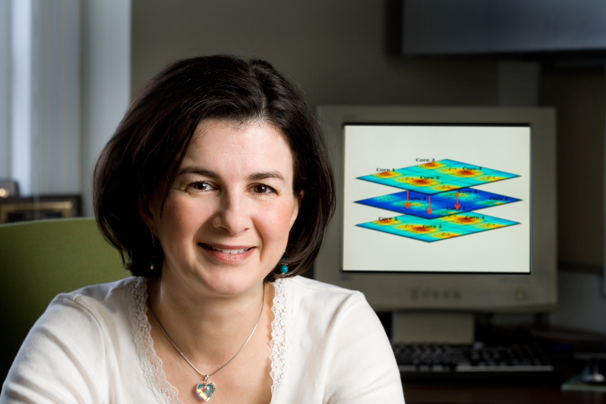Diana Marculescu, professor of electrical and computer engineering at Carnegie Mellon University, has been named a 2015 IEEE Fellow. (credit: Diana Marculescu)