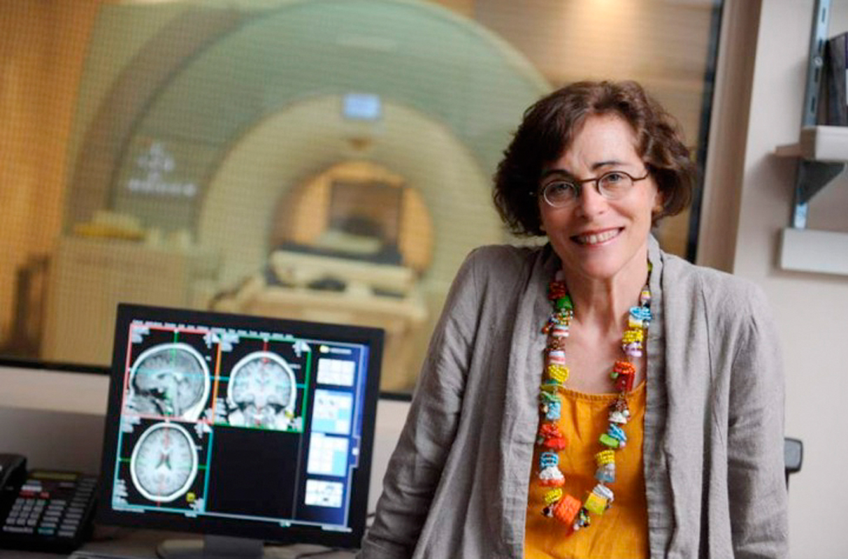 Marlene Behrmann, a professor of cognitive neuroscience at Carnegie Mellon, is helping researchers at the Weizmann Institute in Rehovot, Israel study the various ways the brain is affected in individuals with autism. (credit: Marlene Behrmann)