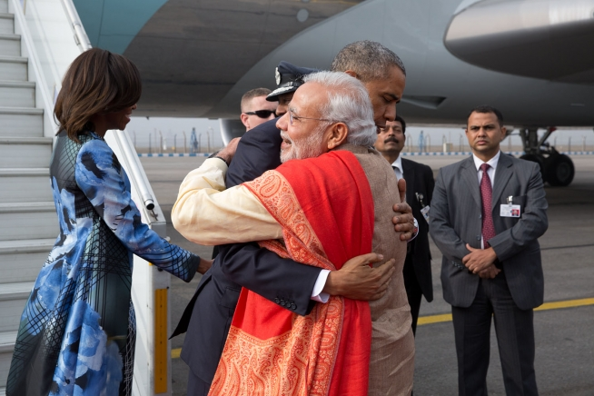 DEBATE: Are improving Indo-U.S. relations good news? (credit: Courtesy of Pete Souza via Wikimedia Commons)