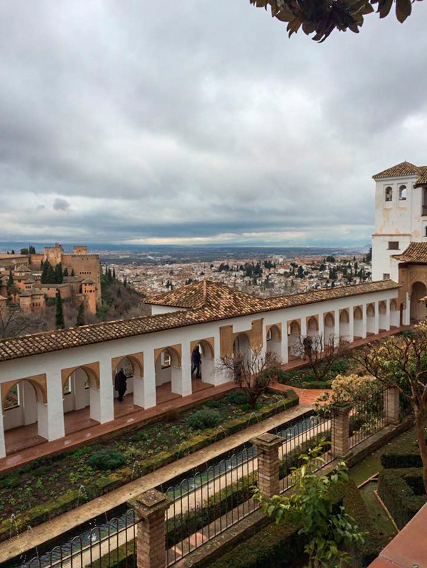 The view from La Alhambra was strategic for military operations. (credit: Senior Staffwriter)
