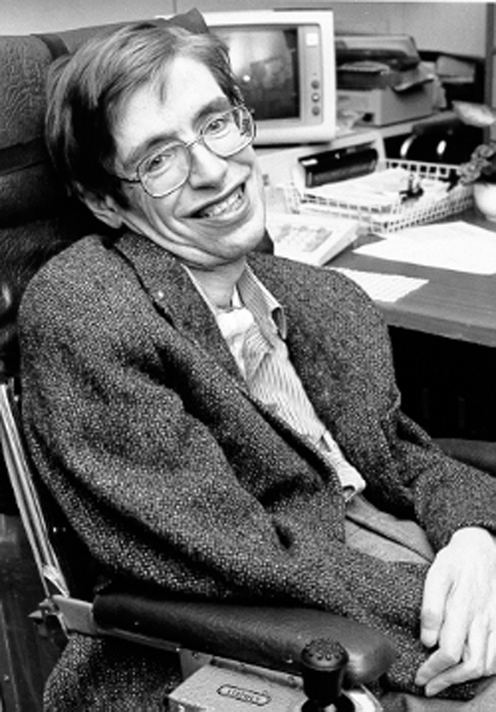 Stephen Hawking's fascinating life was the inspiration for the film that explored his scientific achievements, his experiences suffering from motor neuron disease, and his relationships. (credit: Courtesy of NASA StarChild via Wikimedia Commons )
