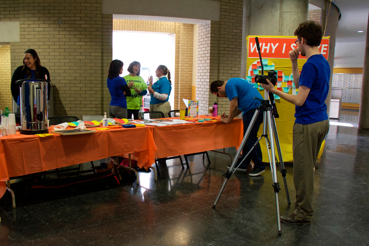 Partners Allied in Civic Engagement (PACE) hosted a volunteers appreciation day this week.