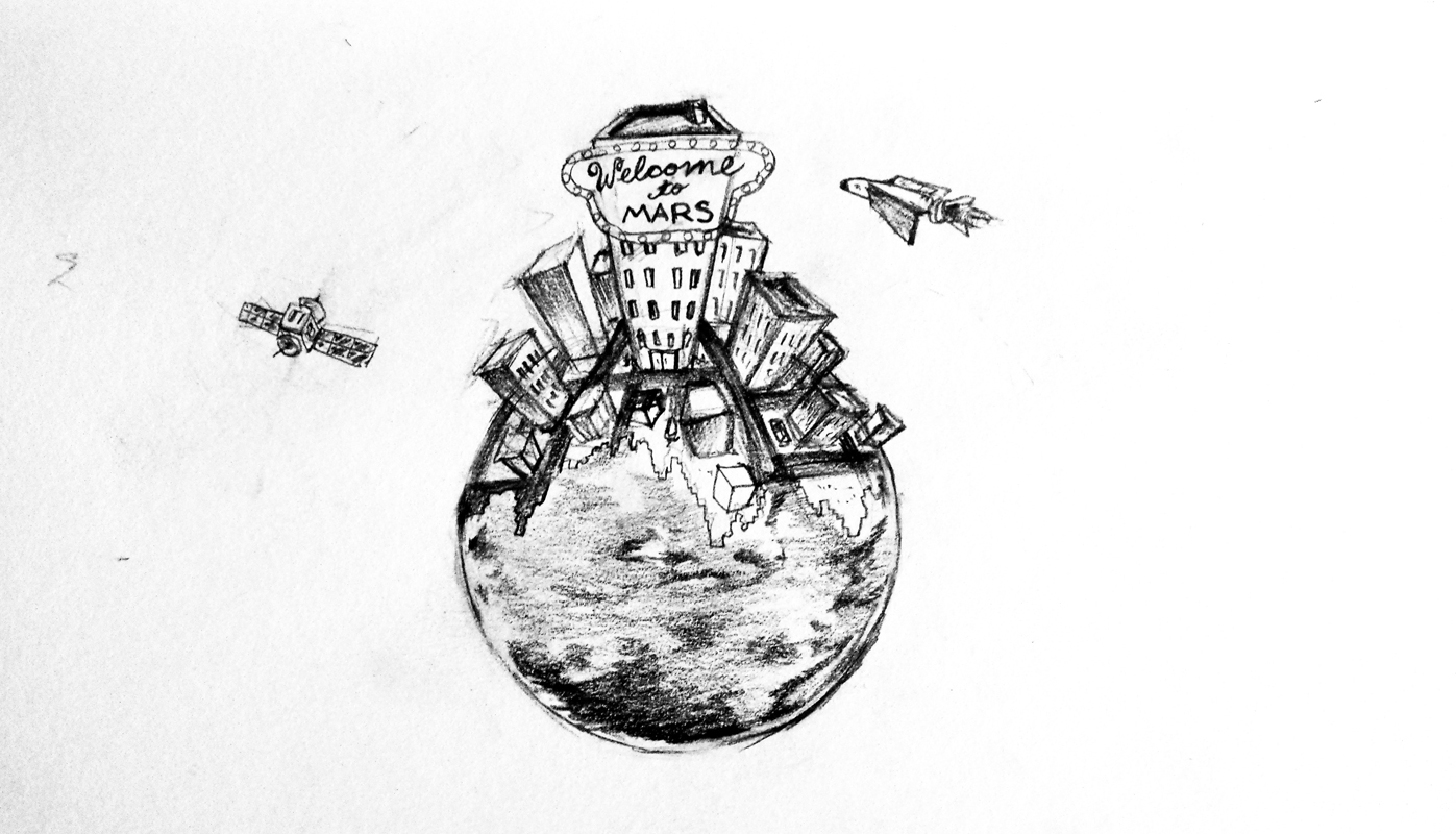 Mars colony has potential, but caution still advised (credit: Eunice Oh/)