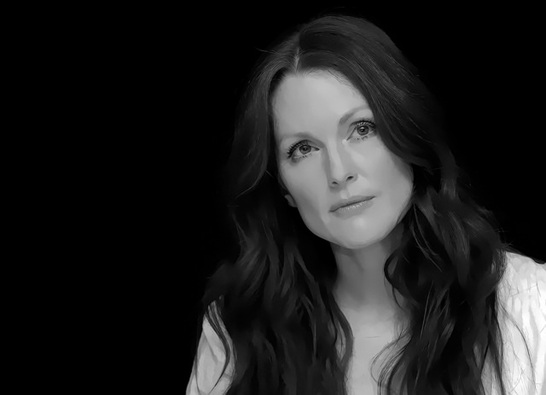 This year marked Julianne Moore's fifth nomination and first Oscar. She won for her emotional performance in Still Alice. (credit: Global Panorama via Flickr Creative Commons)