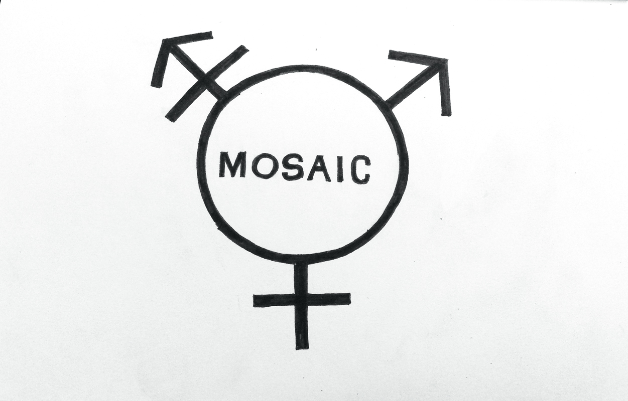 MOSAIC paints colorful, important gender discussion (credit: Eunice Oh/)