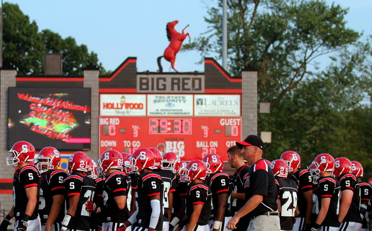 The cast attended Richmond's first football game back at Steubenville High School last summer. They were most disturbed by how much Steubenville seemed just like any other American community. (credit: Flickr Creative Commons)