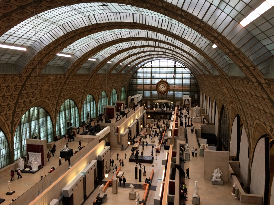 Exploring other countries and their wonderful sights, such as the Musée d'Orsay in Paris, only leads to more adventures.