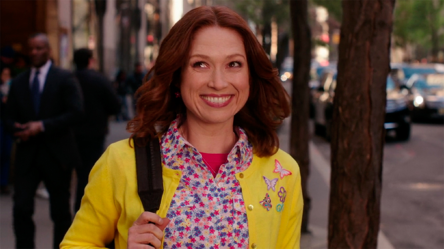 Ellie Kemper, who plays the titular character Kimmy Schmidt, brings buoyancy, humor, and spunk to the role.  (credit: Courtesy of *Unbreakable Kimmy Schmidt* via Netflix)