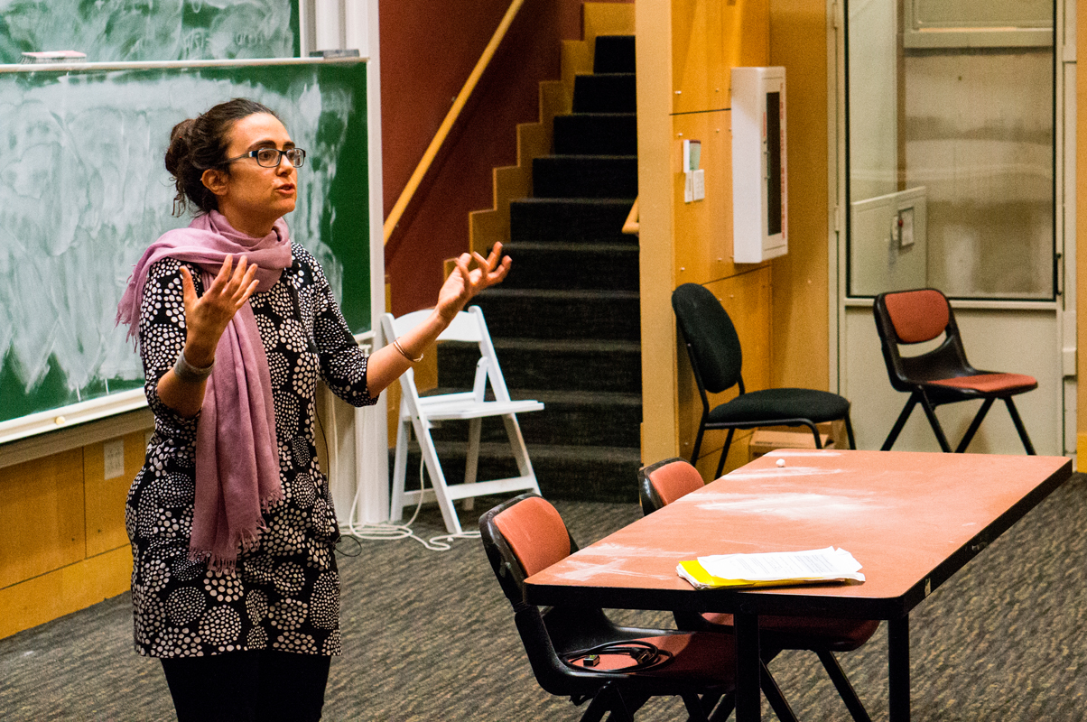 Theoharis spoke about the myth surrounding Rosa Parks's activism and how it hurts our understanding of the movement. (credit: Abhinav Gautam/Photo Editor)