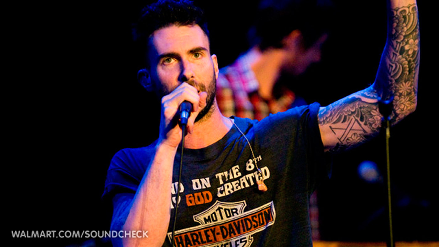 Competitive singing shows like *The Voice* have now turned their focus to the competition between judges, like *The Voice* judge and Maroon 5 frontman Adam Levine's (above) rivalry with co-judge and country music star Blake Shelton. (credit: Courtesy of Lunchbox LP via Flickr Creative Commons)
