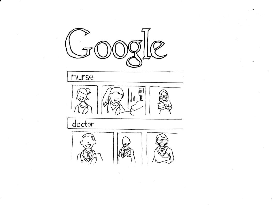 Google could change minds by eliminating its gender bias (credit: Kyungmin Lee/Junior Artist)