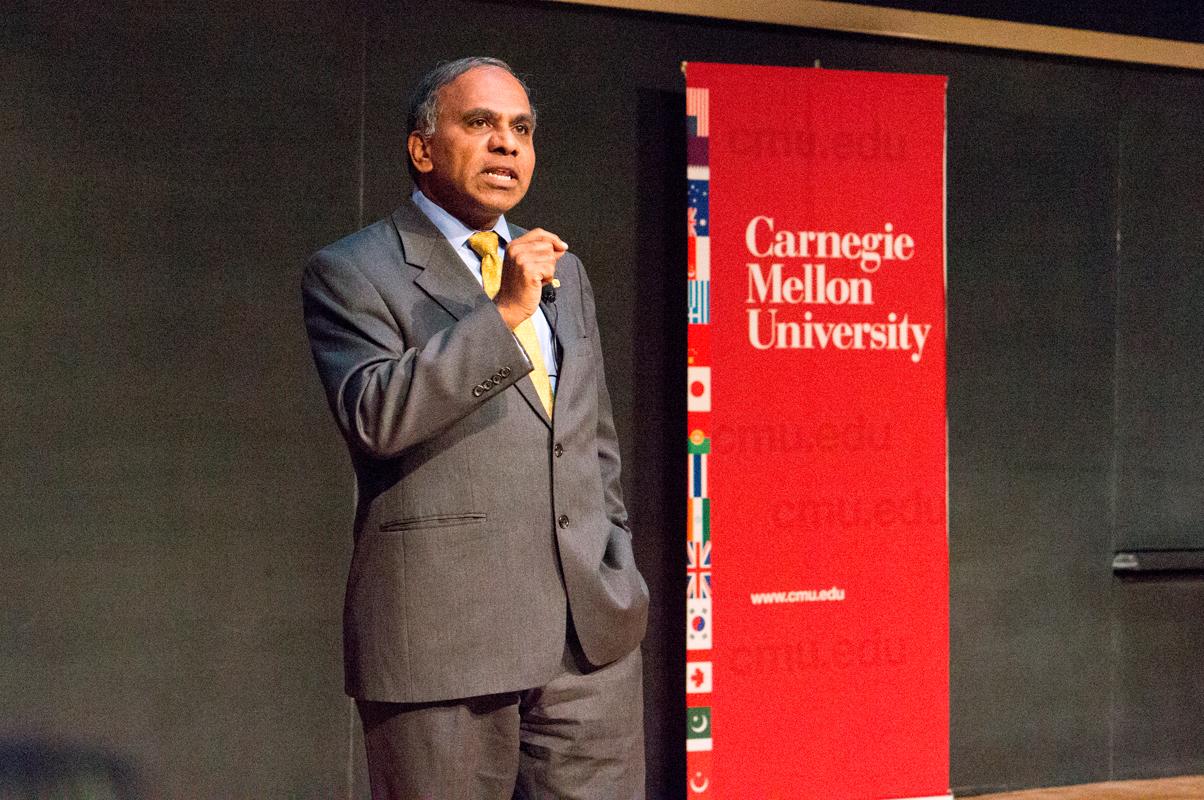 Last week, University President Subra Suresh hosted events to give an annual update to university members. (credit: Abhinav Gautam/Photo Editor)