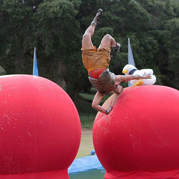 For a show with very little plot or contestant talent needed, Wipeout continues to attract huge audiences who appreciate the dramatic misfortunes of others. (credit: Courtesy of Wikimedia Commons)