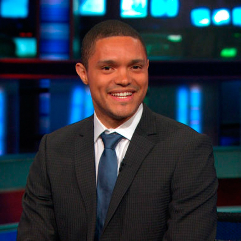 New host of *The Daily Show* and South Africa native Trevor Noah generates many laughs but approaches his new role with some trepidation. (credit: Courtesy of Flickr Creative Commons)