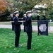 Steel City Naval Reserve Officer Training Corps (ROTC) units from Carnegie Mellon, Duquesne University, and the University of Pittsburgh gathered on Wednesday to pay tribute to and express gratitude toward veterans.