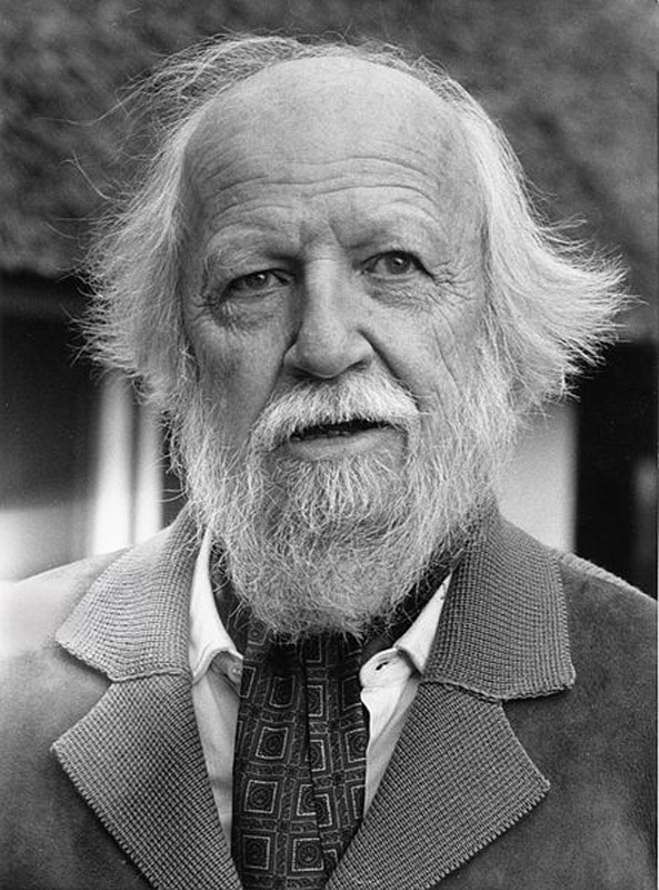 William Golding changed the landscape of American literature with his disturbing novel *Lord of the Flies*, which examines the 'terrible disease of being human.' (credit: Courtesy of Wikimedia Commons)