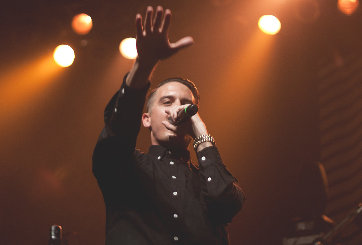 G-Eazy performs songs from new and old albums during his first round of sold-out solo rap performances. (credit: Photo Courtesy of Flickr Commons)