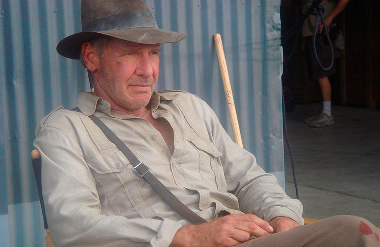 Spielberg refutes Indiana Jones casting rumor with passioned defense of beloved Jones actor Harrison Ford, pictured above. (credit: Photo Courtesy of Wikimedia Commons)