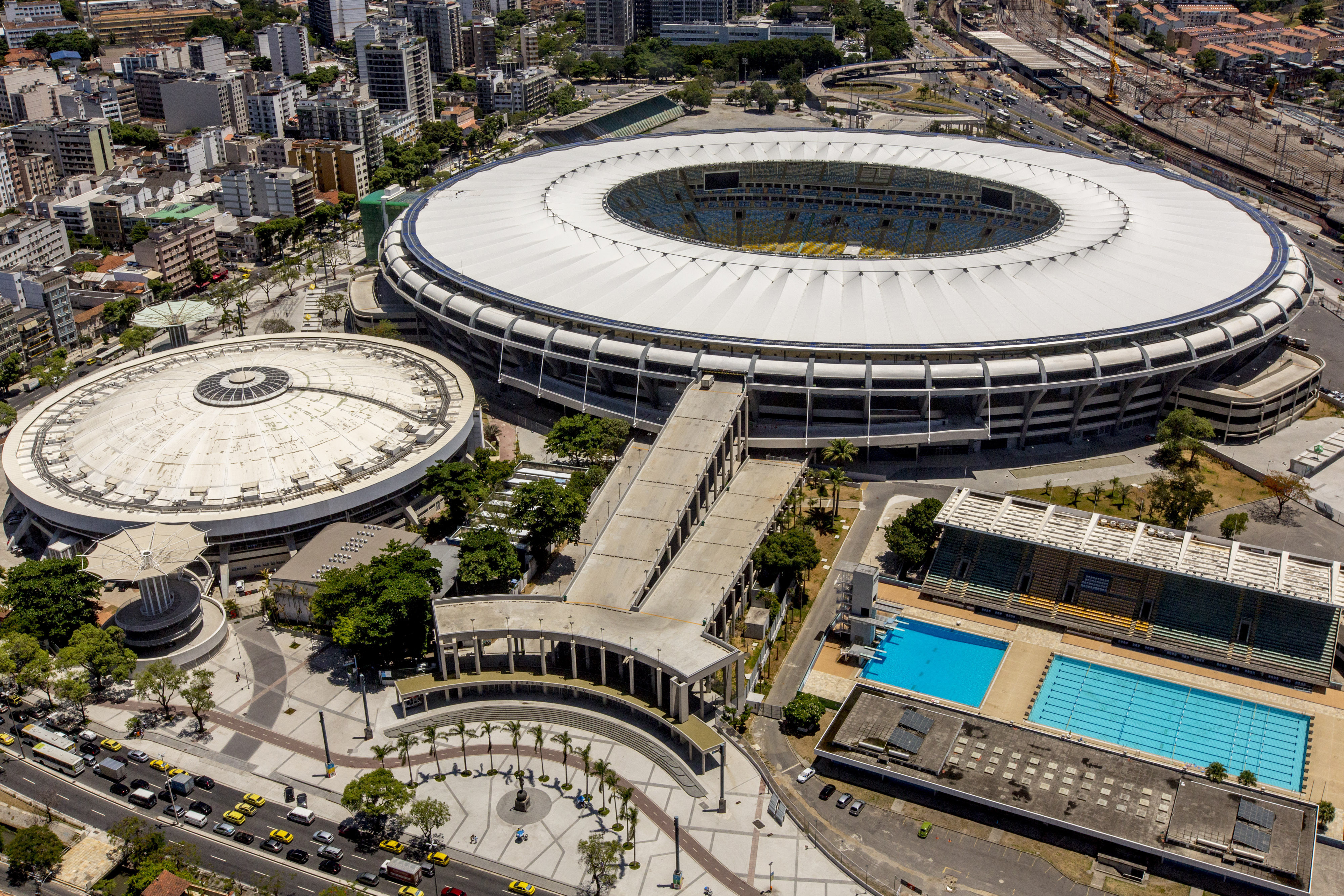 Maracanã stadium, one of the venus chosen for some of the 2016 Olympic games in Rio de Janiero, Brazil. (credit: Photo Courtesy of Daniel basil via Wikimedia Commons.)