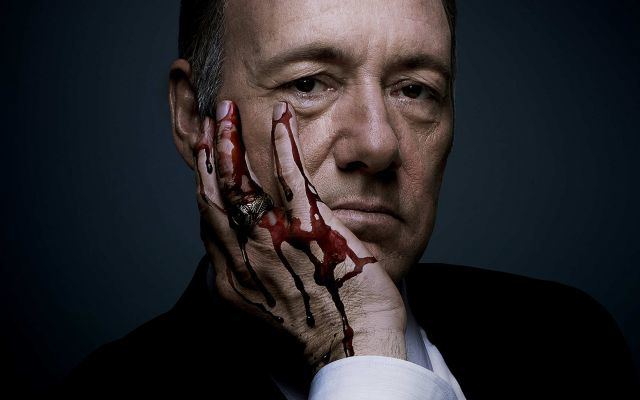 Kevin Spacey plays Frank Underwood, a ruthless but brilliant politician who will stop at nothing in his quest for power.