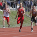 Runners take off on the track at the Carnegie Mellon Mini Invitational on Saturday, where both teams took first.