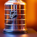 The Stanley Cup sits ready to be engraved for the next NHL champion.