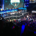 The players gather on stage for a round of applause after last year's MSI.