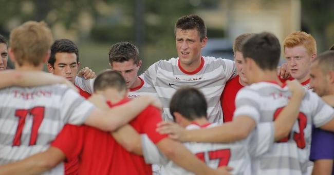 The Carnegie Mellon men's soccer team had an above average season, going undefeated on their home turf. (credit: Courtesy of CMU Athletics)