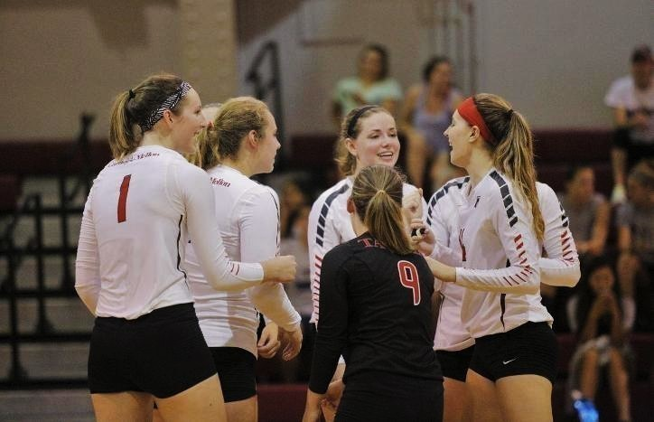 The Carnegie Mellon women's volleyball team is starting this season coming off a 29-8 record last season. (credit: Courtesy of CMU Athletics)