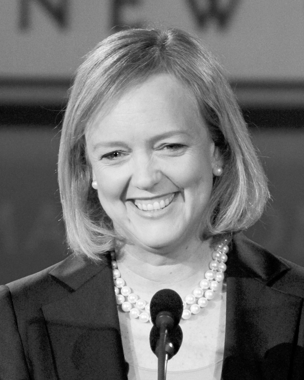 Recently-announced commencement speaker Meg Whitman is an accomplished businesswoman and current president and CEO of Hewlett Packard Enterprise. (credit: Max Morse/Wikimedia Commons)