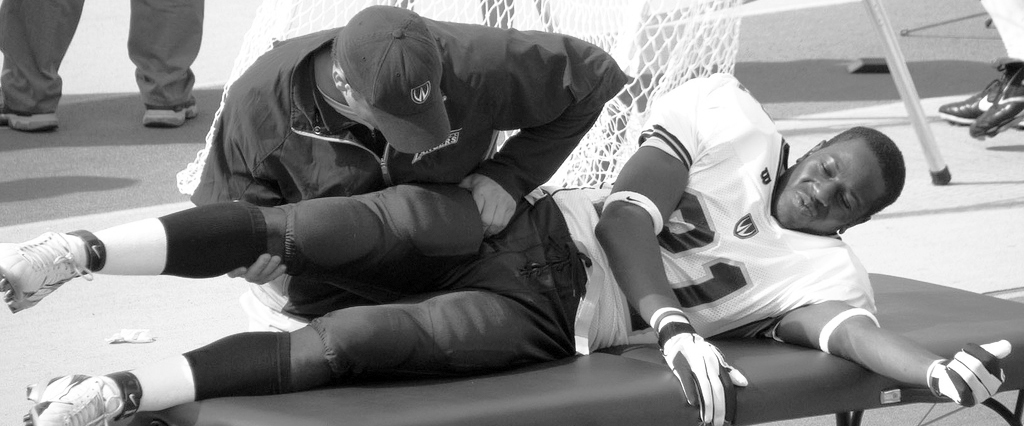 Injuries are the bane of every team's existence: a great roster of high score players will not win if injuries occur. (credit: Courtesy of Western University via Flickr Creative Commons)