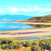 Utah's Great Salt Lake, about 75-mile long and 35-mile wide is the largest saltwater lake in North America. Human activity has been causing its levels to deplete drastically which causes other ecological and economic disturbances.