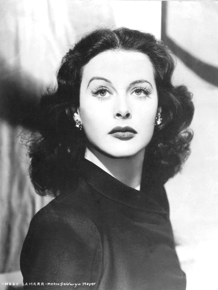 Hedy Lamarr in 1941. She patented a form of radio communication that forms the basis of Wifi today.  (credit: Courtesy of Film Star Vintage on Flickr)