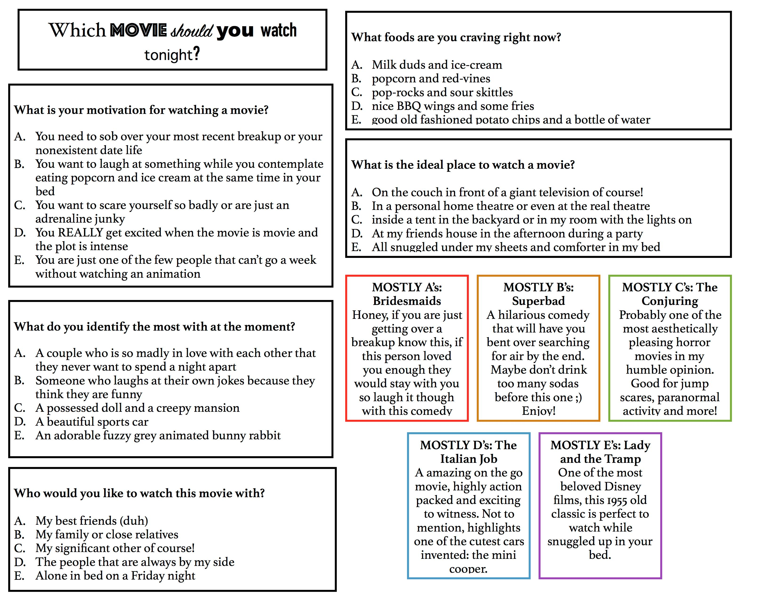 Pillbox Movie Quiz - The Tartan