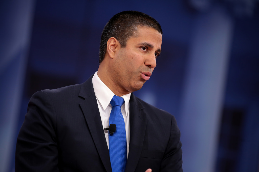 "Federal Communications Commission chair Ajit Pai opposes net netruality. ""Let the free market for wireless services and devices flourish,"" he said, asserting that ""If the government gets out of the way, the wireless marketplace will continue to be an American success story."""