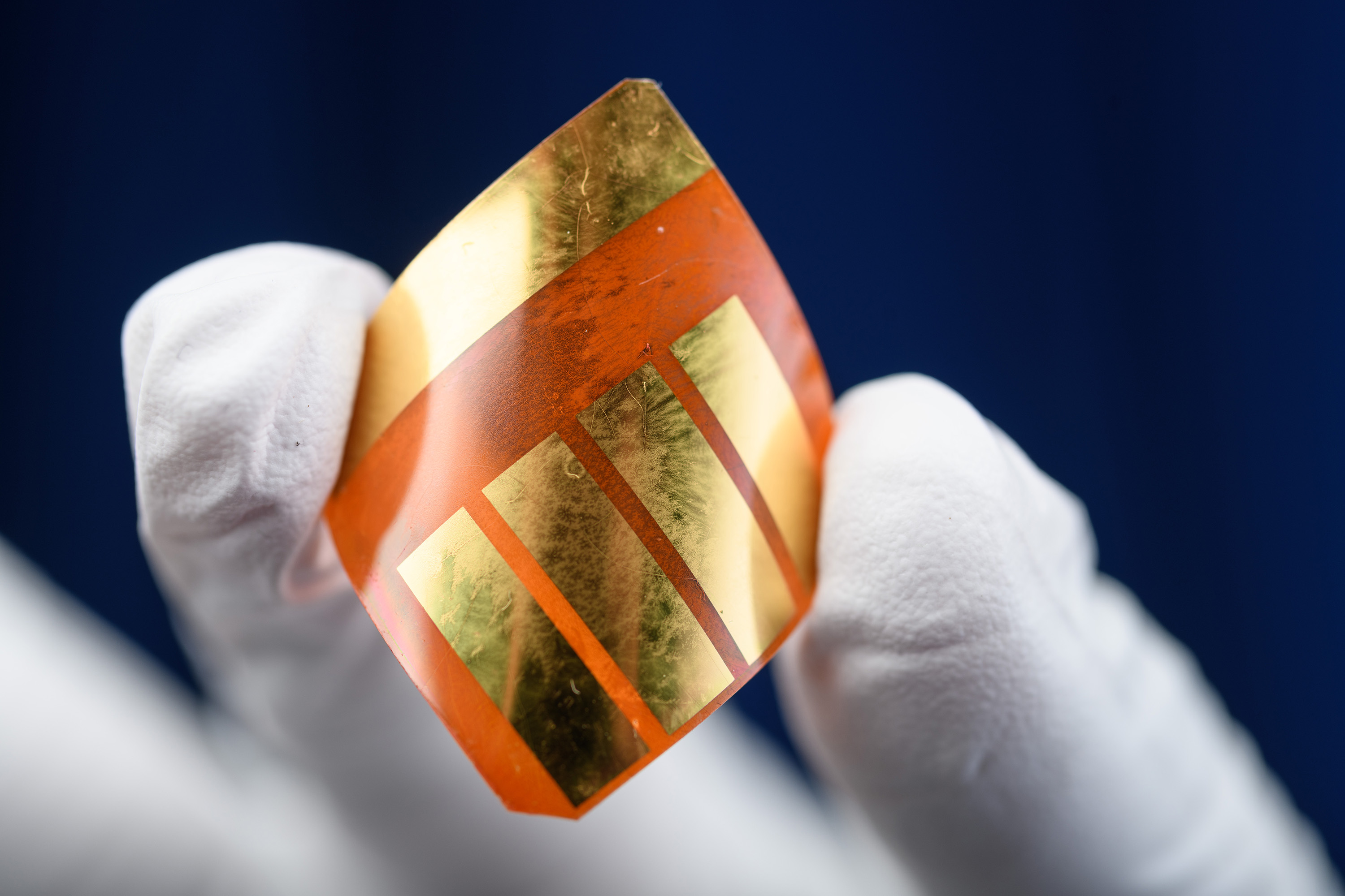 Unlike traditional silicon-based solar cells, perovskite crystal materials can be made with flexible plastic. A multi-university report finds that adding alkali metals to perovskite cells increases their efficiency and demonstrates their robustness.