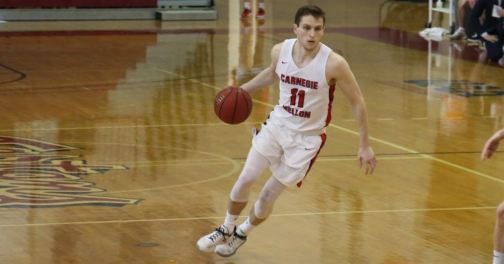 Carnegie Mellon University senior Colin McNeil racked up a UAA record-tying 17 assists as the Tartans held off the New York University Violets.